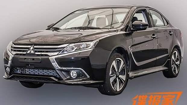 Китайский долгожитель: Mitsubishi Lancer обновится для Поднебесной