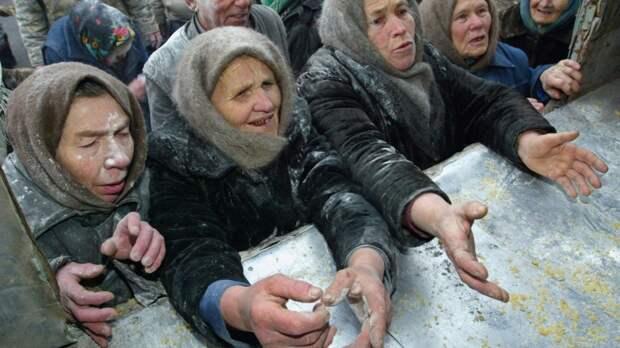 """Россияне голодают, чтобы купить мебель, но им поможет телеканал """"Дождь""""!"""