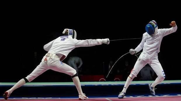 Российские шпажисты победили Италию ивышли вполуфинал Олимпиады