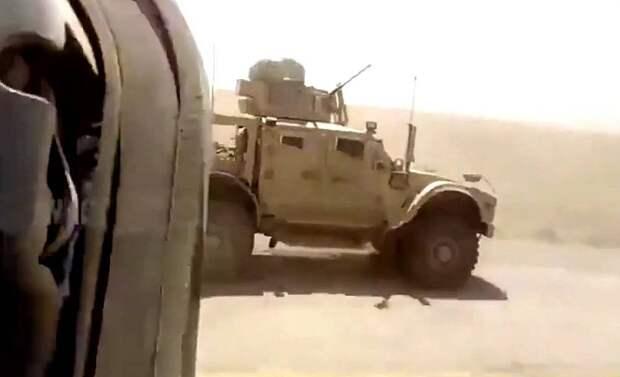 Российский патруль в Сирии в очередной раз оставил американских «коллег» не у дел