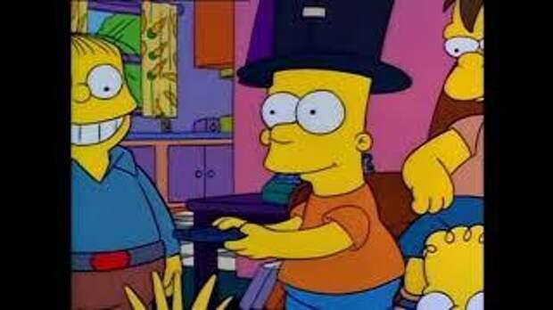 СИМПСОНЫ  Барт и эротика