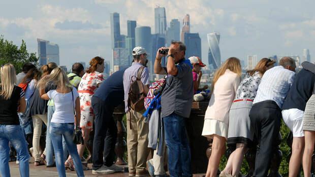 За полгода число иностранных туристов в России увеличилось на 25%
