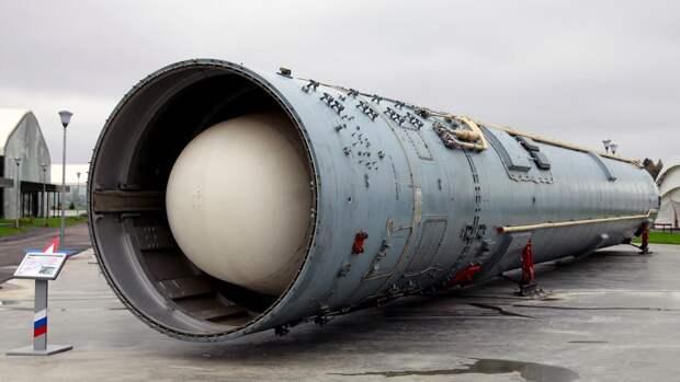 Межконтинентальная баллистическая ракета 15А35