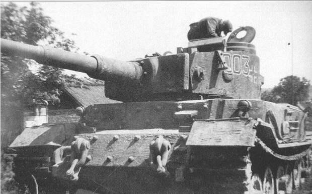 Зачем немцы покрывали свои танки специальной штукатуркой