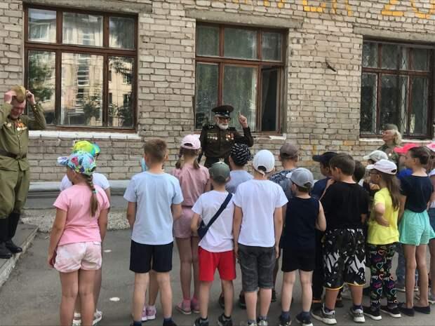 В День памяти и скорби в ижевской школе прошел урок мужества