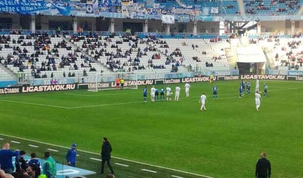 «Динамо» спенальти открыло счет вматче с«Ротором»— 0:1