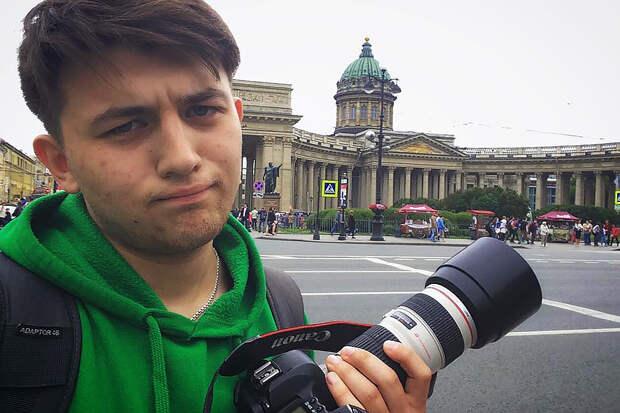 Фотокорреспондента Маркова задержали в Петербурге с применением шокера