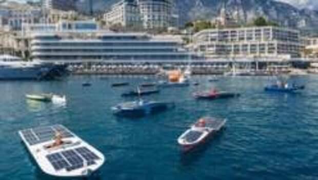 Monaco Solar & Electric Boat Challenge: гонка на лодках будущего