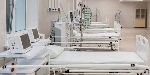 Собянин рассказал о развертывании в Москве еще 4 тыс коек для лечения ковида