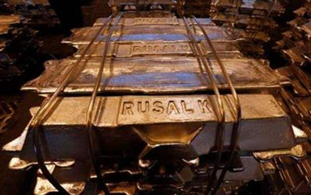 Aluminium ingots are seen stored at the foundry shop of the Rusal Krasnoyarsk aluminium smelter in Krasnoyarsk, Russia October 3, 2018. Picture taken October 3, 2018. REUTERS/Ilya Naymushin