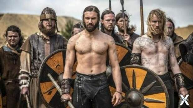 Кадр из телесериала «Викинги»