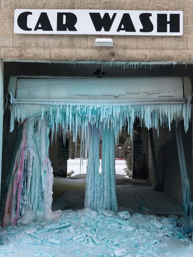 22 фотографии замёрзшего Техаса