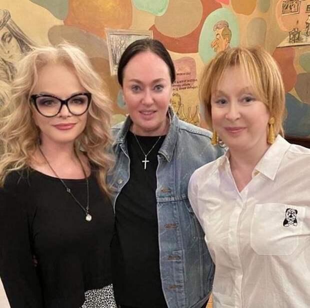 Лариса Удовиченко отметила день рождения в компании двух Ларис - Гузеевой и Долиной