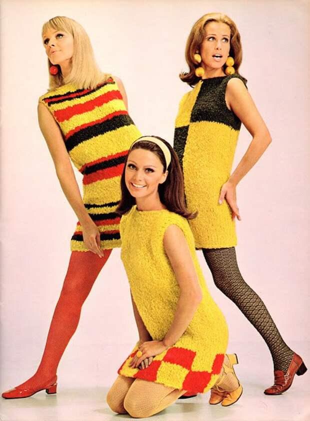 Стильные девушки 60-х.