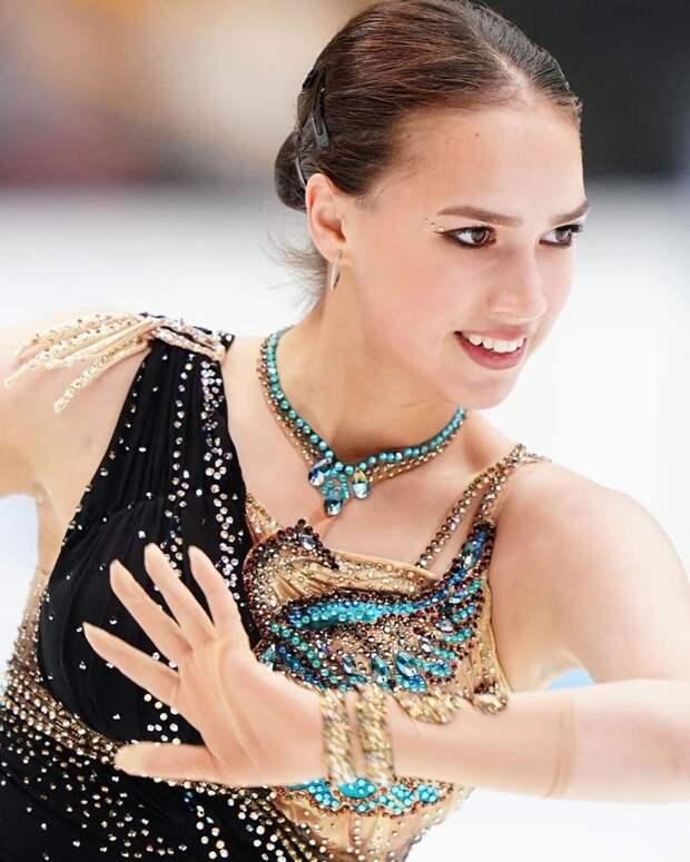 Удмуртская фигуристка Алина Загитова вошла в топ-5 самых красивых девушек России