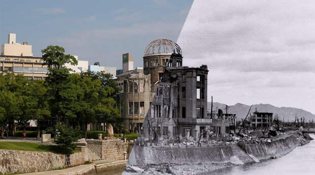 Японцы считают, что СССР разбомбил Хиросиму и Нагасаки