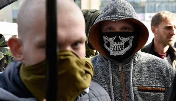 Украинские националисты оскорбляли Чехию перед посольством Словакии | Продолжение проекта «Русская Весна»