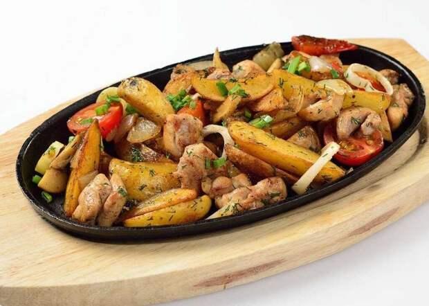 Жаркое из курицы: простой рецепт