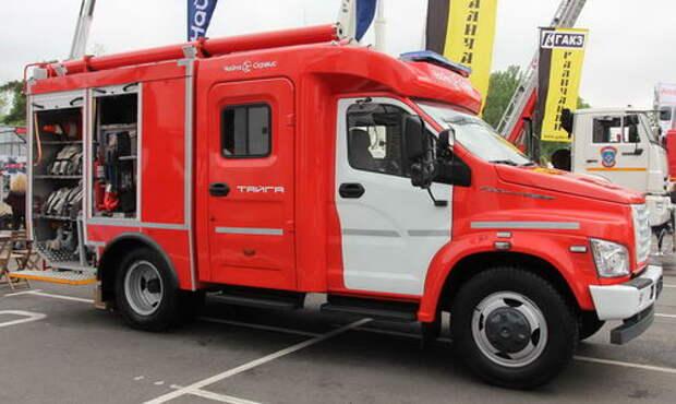 Пожарная машина АЦ-1,0-40/4 на базе ГАЗона Next: с «Тайгой» в тайгу