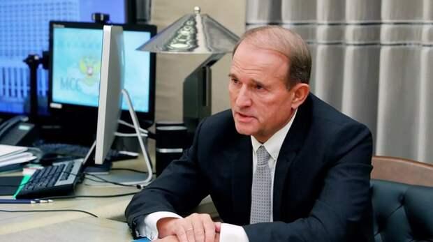 На Украине начались обыски у депутата Медведчука по делу о добыче газа в Крыму