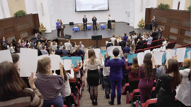 Открывая «Пространство Лобачевского» в Новосибирске