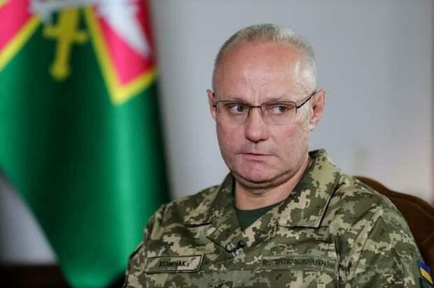 Главком ВСУ Хомчак назвал «горячие» направления в Донбассе и пожаловался на снайперов противника