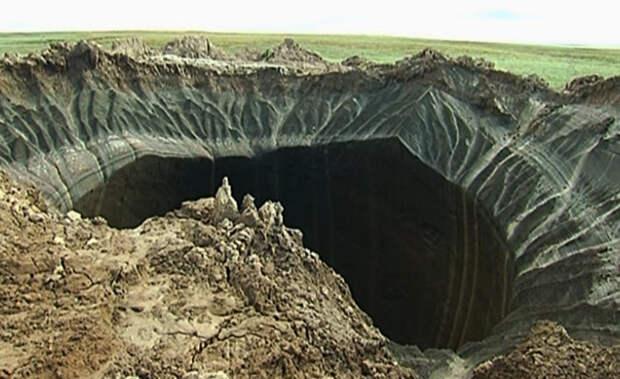 Загадка взрывающихся сибирских кратеров