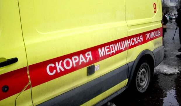 ВКазани годовалая девочка разбилась, упав с7 этажа