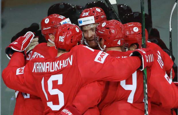 Чемпионат мира по хоккею: Россия — Чехия — 4:3
