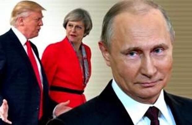 """Мэй и Трамп проиграли Путину """"дело Скрипаля"""""""