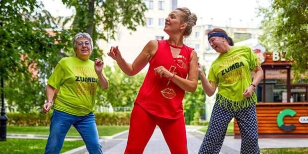Занятия по зумбе для пенсионеров с QR-кодами начнут проходить в августе на Ленинградке