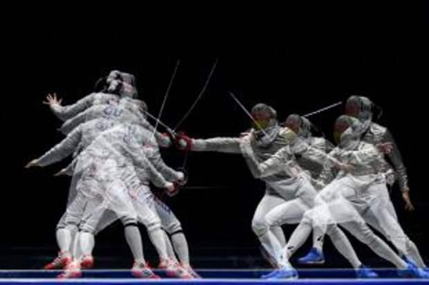 Российские шпажисты вышли в финал турнира на Олимпиаде