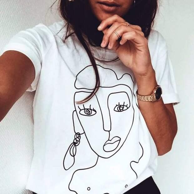 Топ-5 футболок на лето для стильных и гармоничных образов