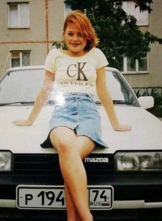 Как мы в 90-х подражали моделям.