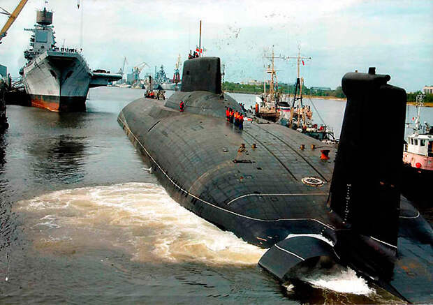 Живой свидетель эпохи холодной войны – атомная подводная лодка «Акула»