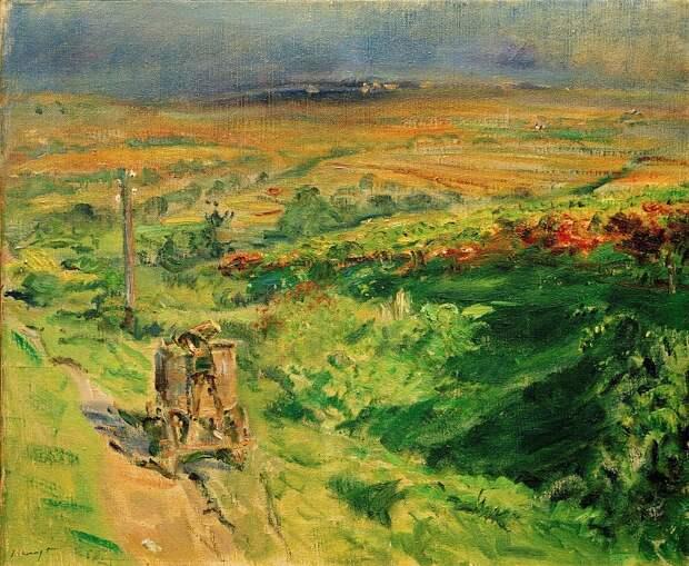 Парк в Пфальце. 1922. Макс Слефогт