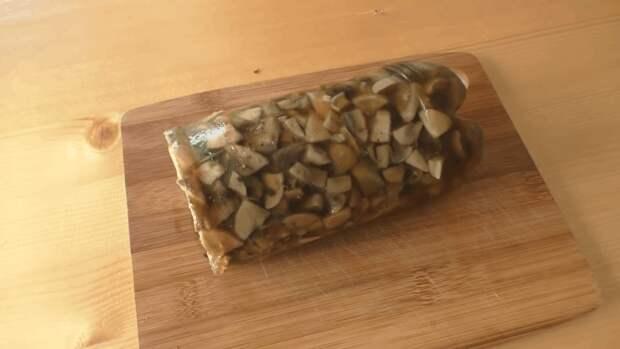 Неординарная колбаса из грибов: даже мясо уходит на задний план
