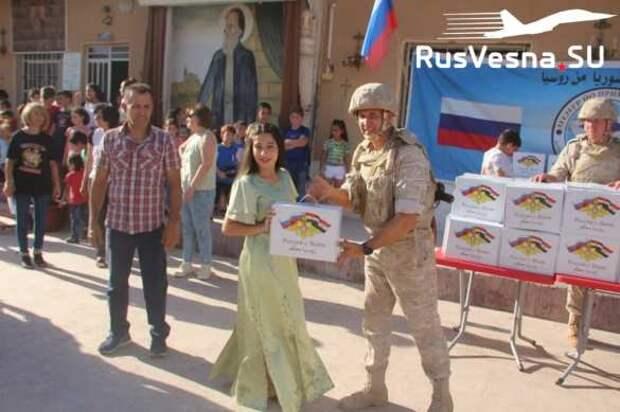 Необычная встреча: как армию России приняли в зоне оккупации США (ФОТО, ВИДЕО) | Русская весна