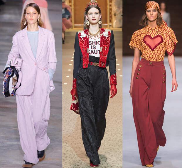 Брюки 2018-2019 - самые модные и красивые модели