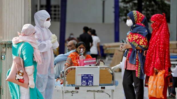 Число случаев коронавируса в Индии превысило 14,5 млн