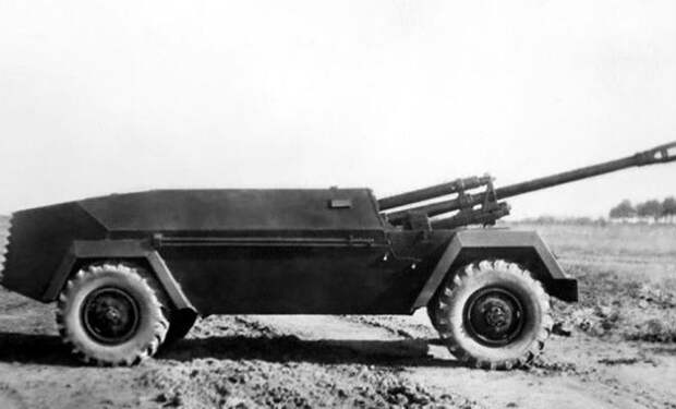 Противотанковый ГАЗ: как в СССР придумали Хаммер с пушкой