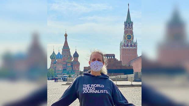 Высылаемая сотрудница посольства США назвала Россию прекрасной