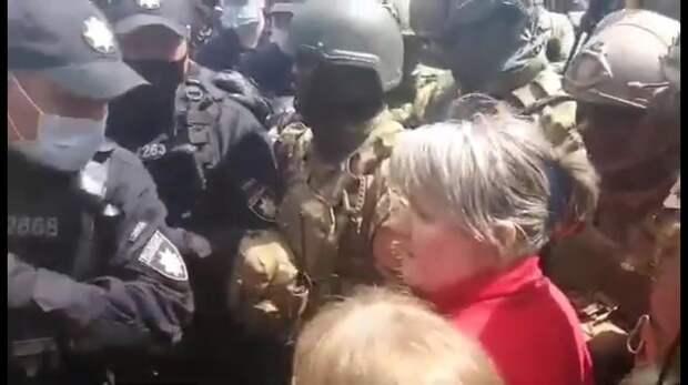 Силовики разогнали «Бессмертный полк» в Одессе