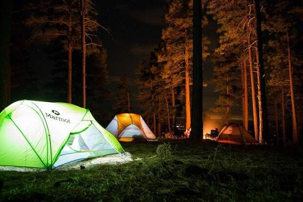 Карелия вошла в тройку популярных направлений для летнего отдыха в палатках
