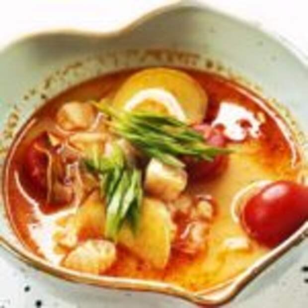 Том ям – легендарный тайский суп всего за 10 минут