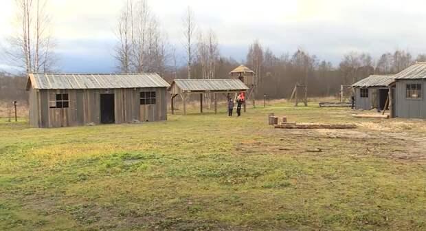 В Карелии построили копию концлагеря для малолетних узников