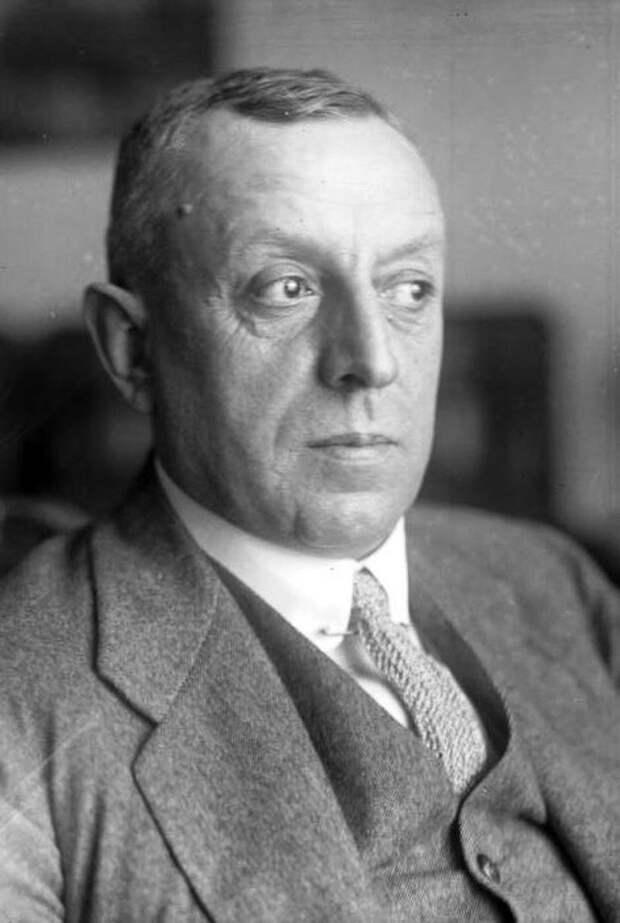 """Фридрих """"Фриц"""" Тиссен (1873-1951) - тот, который поддерживал Гитлера на ранних стадиях."""
