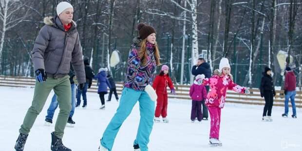 Центр на Песчаной собирает команду из жителей района на соревнования по забегу на коньках