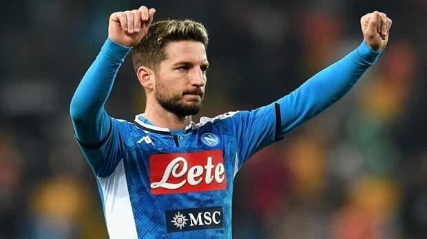 Мертенс — 3-й игрок, забивший 100 голов за «Наполи» в Серии А