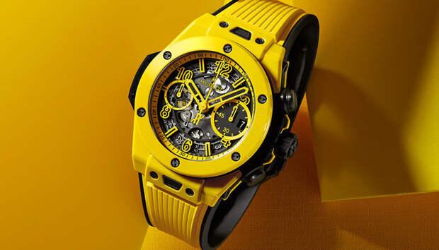 Солнце в руке: от новых Hublot Big Bang Unico из ярко-желтой керамики глаз не оторвать